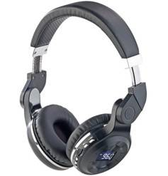 Auvisio Casque MP3 pliable avec bluetooth et radio FM MPH-350.mic