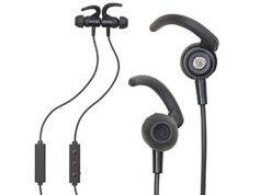 Auvisio Micro-casque stéréo In-Ear magnétique avec bluetooth multipoint et auto-pairing