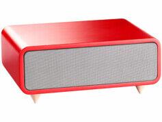 Auvisio Haut-parleurs USB et bluetooth ''MSS-440.bt'' - Rouge