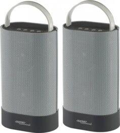 Auvisio Duo de haut-parleurs stéréo et bluetooth ''MSS-200.btd''