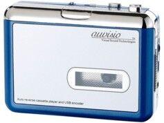 Auvisio Baladeur encodeur K7 USB ''Tape2PC Blue Edition''