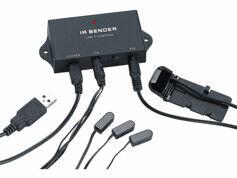 Auvisio Répartiteur infrarouge ''IRV-200'' pour 3 appareils