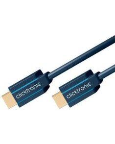 Clicktronic Câble HDMI High Speed Ethernet blindé Clicktronic - 1,50m