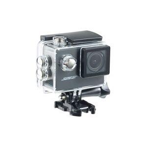 Somikon Caméra sport HD avec boîtier étanche et fonction webcam Somikon DV-1212