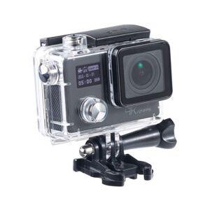 Somikon Caméra sport 4K UHD avec 2 écrans, capteur Sony 16 Mpx et fonction Webcam