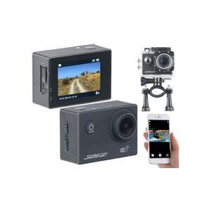 Somikon Caméra sport UHD étanche DV-3717 avec wifi, capteur Sony et fonction Webcam