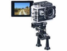 Somikon Caméra sport HD DV-1212 V2 avec boîtier étanche jusqu'à 30 m