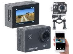 Somikon Caméra sport UHD étanche DV-3717 avec wifi et capteur Sony