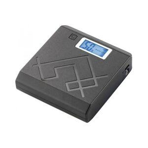 Revolt Batterie de secours USB 6600 mAh avec écran LCD et lampe à LED - Publicité