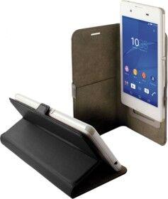 KSix Étui universel folio pour smartphone avec slide - jusqu'à 4,5'' - Noir