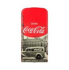 Mobility Lab Étui à rabat Flip Coca Cola pour iPhone 4 / 4S