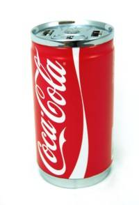 Batterie de secours USB design canette de Coca Cola - 7200 mAh
