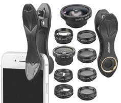 Somikon 10 lentilles pour smartphone CVL-210