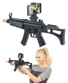 Callstel Fusil de réalité augmentée avec bluetooth pour smartphones
