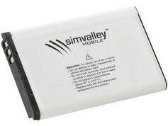 Simvalley Mobile Batterie supplémentaire pour smartphone SPX-28