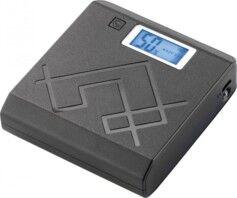 Revolt Batterie de secours USB 6600 mAh avec écran LCD et lampe à LED