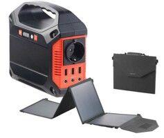 Revolt Convertisseur solaire & batterie nomade 42 Ah - avec Panneau 50 W pliable