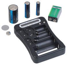 TKA Testeur de piles professionnel avec écran LCD