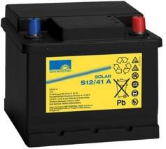 Pearl Batterie 12 V 41 Ah - longue durée
