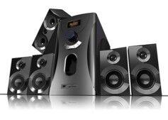 Auvisio Système audio home cinema Surround 5.1 avec radio / MP3 - Noir