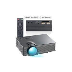 SceneLights Projecteur vidéo LCD-LED 800 lm ''LB-8300.wl'' - Avec streaming