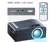 SceneLights Mini vidéoprojecteur à LED LB-2500.mini