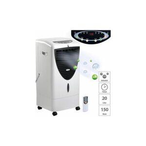 Sichler Haushaltsgeräte Rafraîchisseur d'air à évaporation 150W / 20L avec fonctions oscillation et ioniseur LW-530 - Publicité