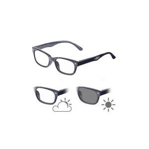 Infactory Lunettes de lecture avec verres à teinte variable et protection UV 400, +2.5 dpt - Publicité