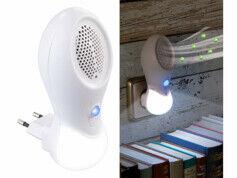 Newgen Medicals Ioniseur & veilleuse à LED 2 en 1 sur prise secteur