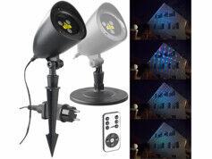 Lunartec Projecteur laser RVB télécommandé avec effet ciel étoilé LP-350