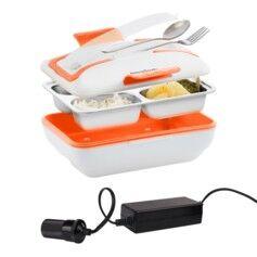 InnovaGoods Lunch box chauffante Pro avec convertisseur de tension 12 V