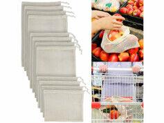 Rosenstein & Söhne 12 sacs en coton pour fruits et légumes