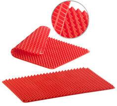 Rosenstein & Söhne Set de 2 tapis de cuisson en silicone avec revêtement antiadhésif et picots