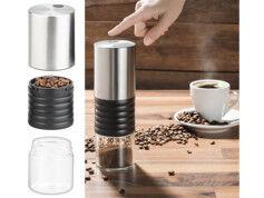 Rosenstein & Söhne Moulin à café sans fil 1 tasse avec broyeur en céramique