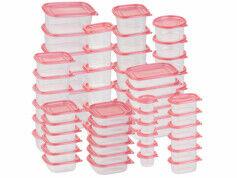 Rosenstein & Söhne Pack de 60 boîtes de conservation en plastique - 10 formats