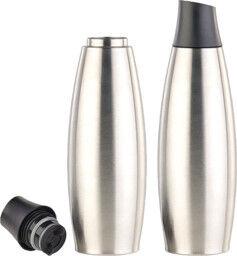 Carlo Milano 2 bouteilles isothermes design 650 ml en acier inoxydable