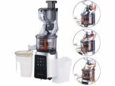 Rosenstein & Söhne Extracteur de jus digital 200 W DSJ-200 pour fruits entiers