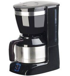 Rosenstein & Söhne Machine à café filtre 8 tasses avec pichet isotherme