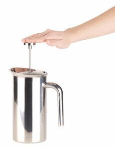 Rosenstein & Söhne Cafetière à piston 1 L isotherme