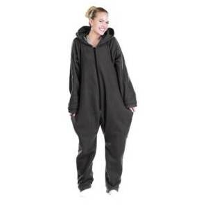 Infactory Tenue d'intérieur en textile polaire - noir - taille L