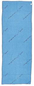 Pearl Sports Serviette yoga en microfibres antidérapante - Bleu