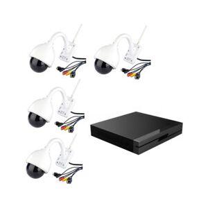 7Links Enregistreur de vidéo-surveillance avec 4 caméras IPC-440.HD - Publicité
