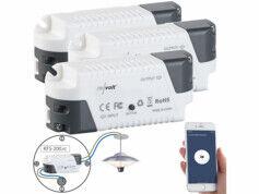 Revolt 3 récepteurs sans fil KFS-200.rc compatibles Amazon Alexa & Google Assistant
