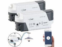 Revolt 2 récepteurs sans fil KFS-200.rc compatibles Amazon Alexa & Google Assistant