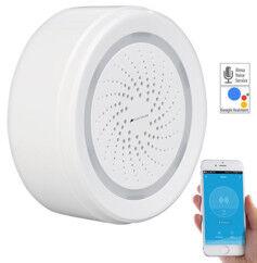 VisorTech Sirène d'alarme connectée compatible avec Amazon Alexa XMD-100.dB