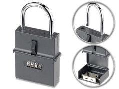 XCase Coffre à clés format cadenas avec code à 4 chiffres