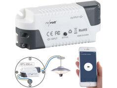 Revolt Récepteur sans fil KFS-200.rc compatible Amazon Alexa & Google Assistant
