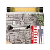 Semptec Urban Survival Technology Chauffage radiant infrarouge d'extérieur - 2000 W
