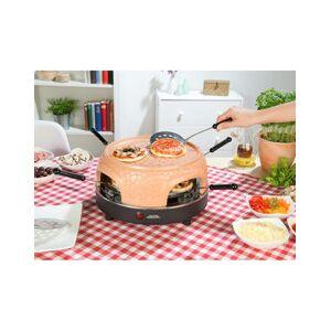 Cucina Dimodena Four à pizza avec couvercle en terre cuite 6 personnes (reconditionné) - Publicité