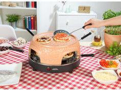 Cucina Dimodena Four à pizza avec couvercle en terre cuite 6 personnes (reconditionné)